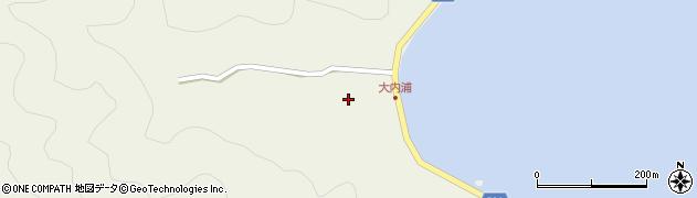大分県佐伯市米水津大字色利浦240周辺の地図