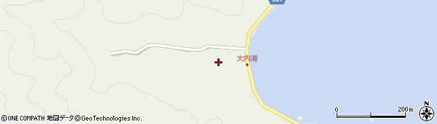 大分県佐伯市米水津大字色利浦234周辺の地図