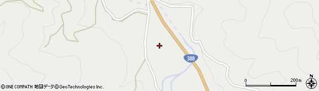 大分県佐伯市木立2288周辺の地図