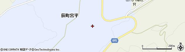 大分県竹田市荻町宮平3764周辺の地図
