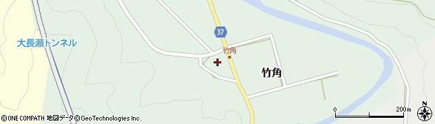 大分県佐伯市堅田575周辺の地図