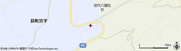 大分県竹田市荻町宮平3745周辺の地図