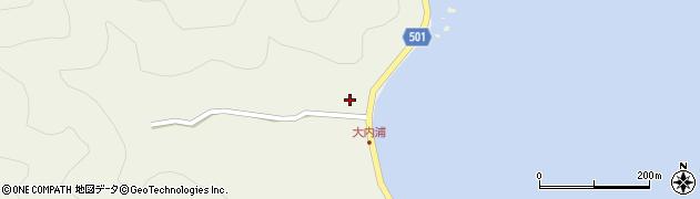 大分県佐伯市米水津大字色利浦15周辺の地図