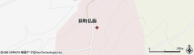大分県竹田市荻町仏面981周辺の地図