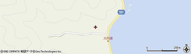 大分県佐伯市米水津大字色利浦12周辺の地図