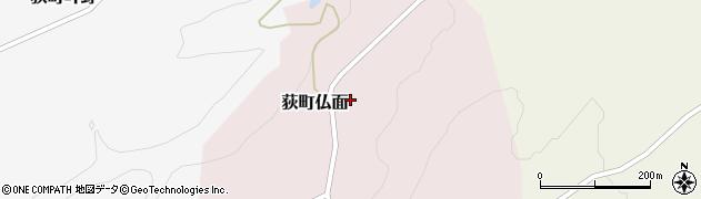 大分県竹田市荻町仏面968周辺の地図