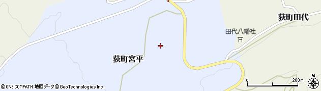 大分県竹田市荻町宮平3623周辺の地図