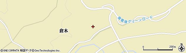 大分県竹田市倉木900周辺の地図