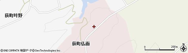 大分県竹田市荻町仏面928周辺の地図