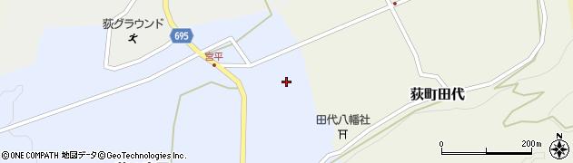 大分県竹田市荻町宮平3696周辺の地図