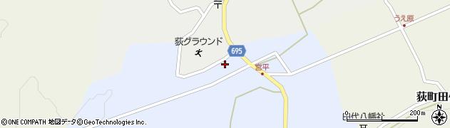 大分県竹田市荻町宮平3655周辺の地図