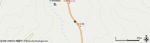 大分県佐伯市木立2148周辺の地図
