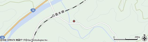 大分県佐伯市直川大字上直見2467周辺の地図