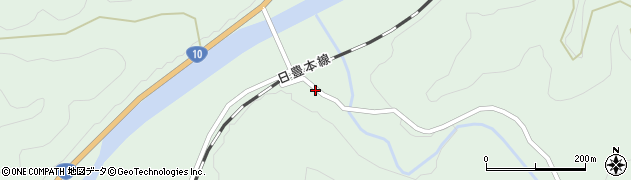 大分県佐伯市直川大字上直見2907周辺の地図
