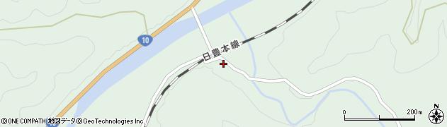 大分県佐伯市直川大字上直見2903周辺の地図