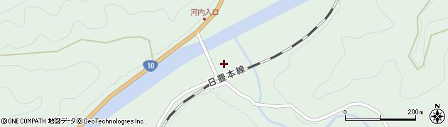 大分県佐伯市直川大字上直見2921周辺の地図