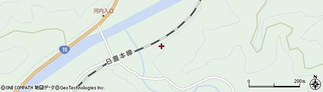 大分県佐伯市直川大字上直見2412周辺の地図