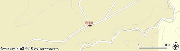 大分県竹田市荻町西福寺6106周辺の地図