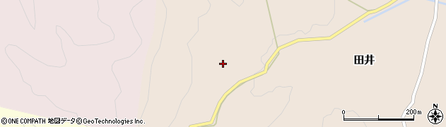 大分県竹田市田井672周辺の地図