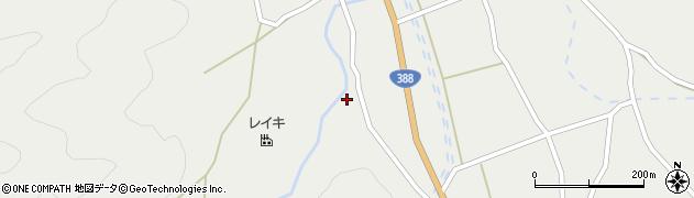 大分県佐伯市木立2100周辺の地図