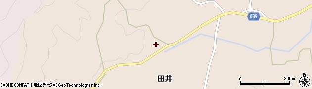 大分県竹田市田井810周辺の地図