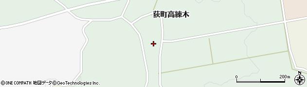 大分県竹田市荻町高練木2134周辺の地図