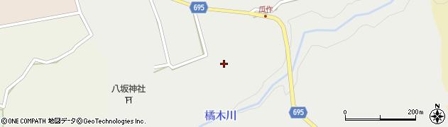 大分県竹田市荻町瓜作4681周辺の地図