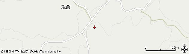 大分県竹田市次倉1326周辺の地図