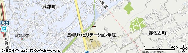 内田川周辺の地図