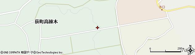 大分県竹田市荻町高練木2262周辺の地図