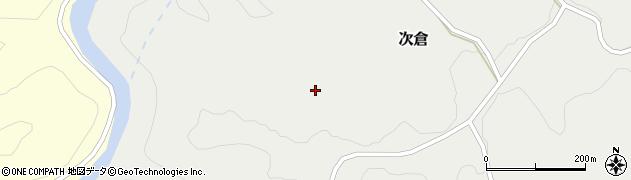 大分県竹田市次倉次倉周辺の地図