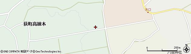大分県竹田市荻町高練木2256周辺の地図