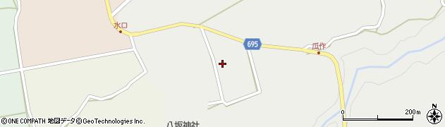 大分県竹田市荻町瓜作4846周辺の地図