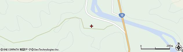 大分県佐伯市直川大字上直見1897周辺の地図