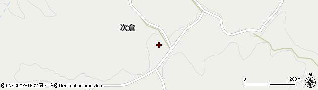 大分県竹田市次倉919周辺の地図