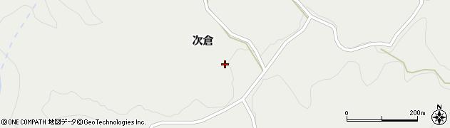 大分県竹田市次倉928周辺の地図