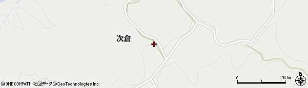 大分県竹田市次倉917周辺の地図