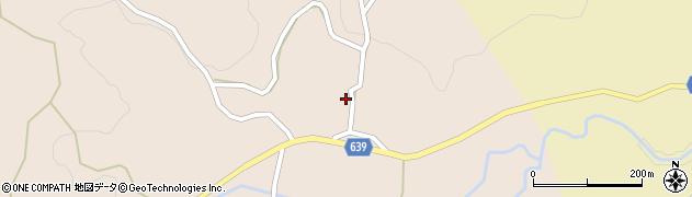 大分県竹田市田井周辺の地図