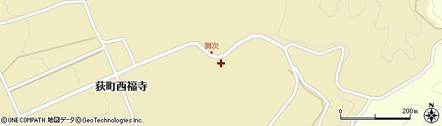 大分県竹田市荻町西福寺吉野周辺の地図
