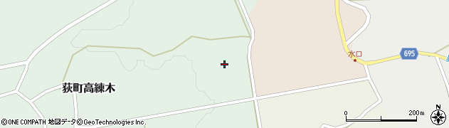 大分県竹田市荻町高練木2318周辺の地図