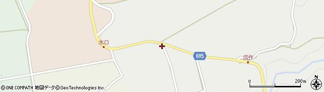 大分県竹田市荻町瓜作4944周辺の地図