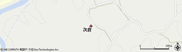 大分県竹田市次倉905周辺の地図