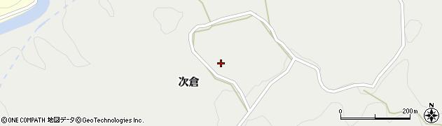 大分県竹田市次倉718周辺の地図