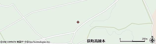 大分県竹田市荻町高練木2056周辺の地図