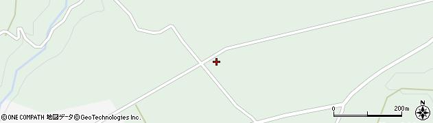 大分県竹田市荻町高練木2089周辺の地図