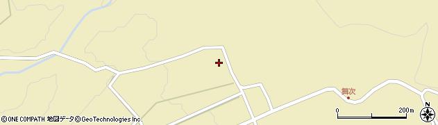 大分県竹田市荻町西福寺5428周辺の地図