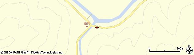 大分県佐伯市本匠大字堂ノ間961周辺の地図