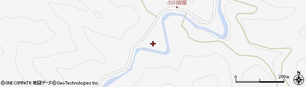 大分県佐伯市本匠大字小川1359周辺の地図