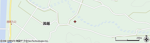 大分県佐伯市堅田4164周辺の地図