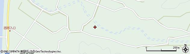 大分県佐伯市堅田4166周辺の地図
